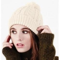 Beanie Cable Knit Snowstar Beechfield Headwear