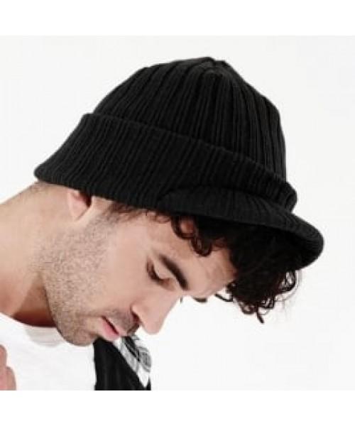 Beanie Peaked Beechfield Headwear