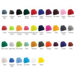 Beanie Hat Beechfield Knitted Beechfield Headwear