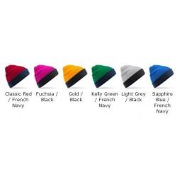 Beanie Reversible contrast Beechfield Headwear