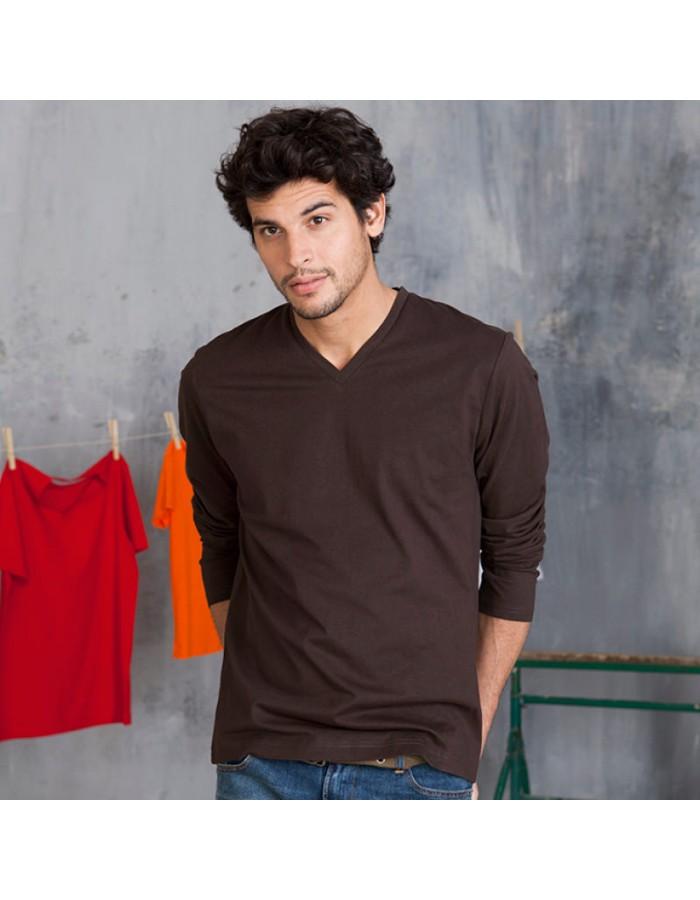 Plain t-shirt Long sleeve Kariban 180 gr/m2