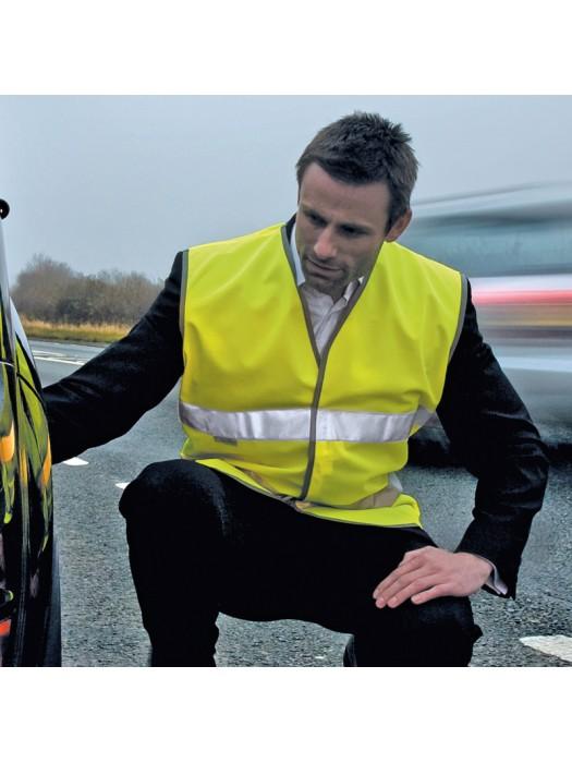 Plain Vest Motorist Safety Result