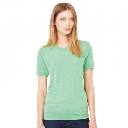 Plain tee  v-neck Bella + Canvas 135 g/m²