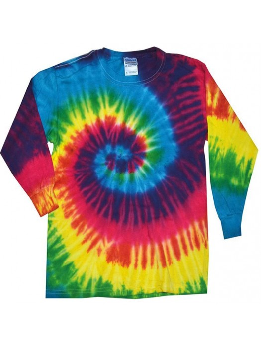 Plain tee Long sleeve Tie-Dye 175gsm GSM