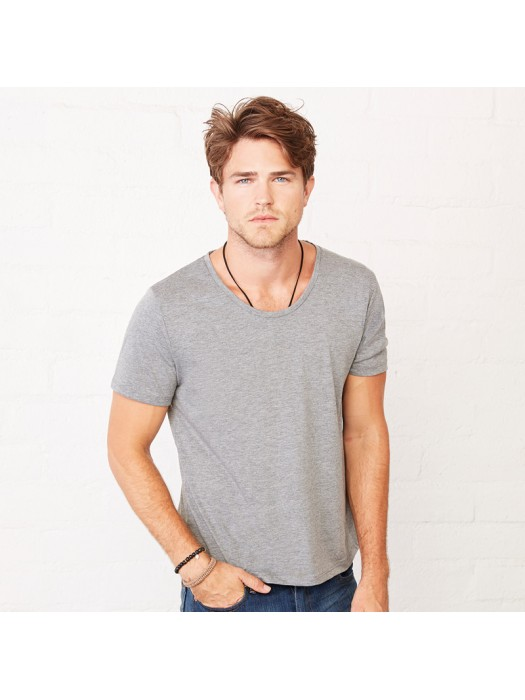 Plain t-shirt neck  Bella + Canvas N/A GSM