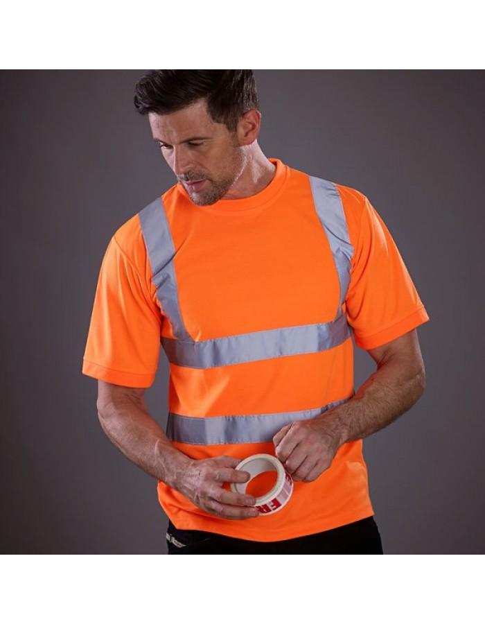 Plain t-shirt (HVJ410) short sleeve Yoko 200gsm