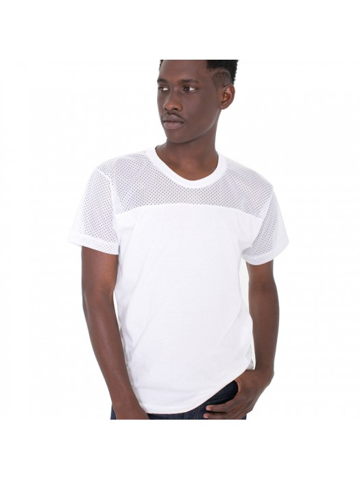 Plain tee Athletic contrast American Apparel 146gsm GSM