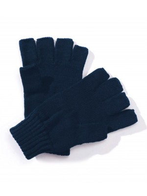 Plain Mitts Fingerless Regatta