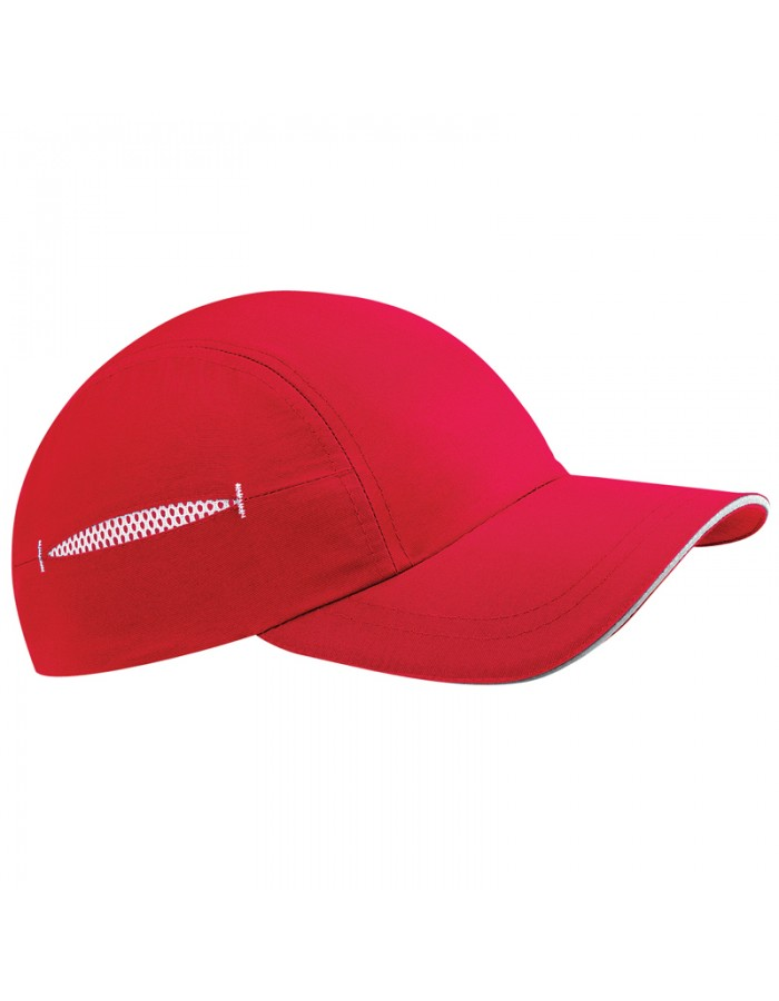 Competition Cap Coolmax Teamwear Beechfield Headwear