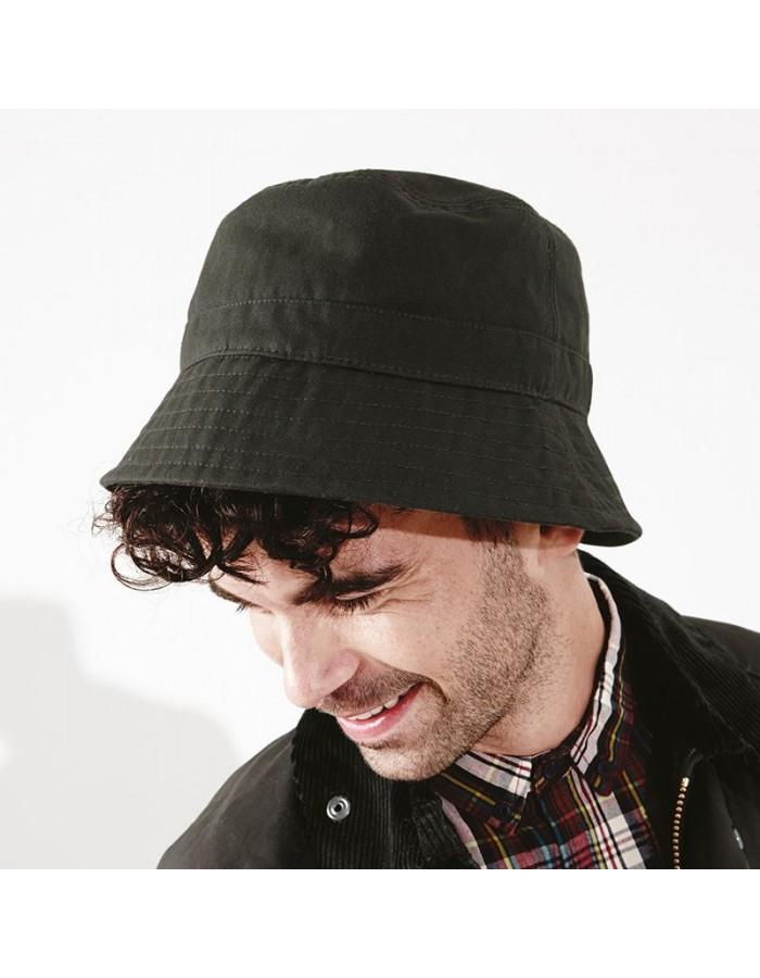 Bucket hat Waxed Beechfield Headwear