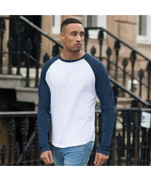Plain t-shirt Long sleeve Skinnifit  140gsm