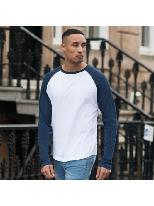 Plain t-shirt Long sleeve Skinnifit  140gsm GSM