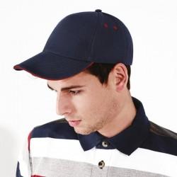 Sandwich peak contrast cap Beechfield Headwear
