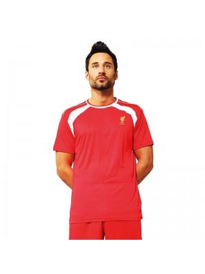 Plain T-shirt Liverpool  Official Football Merchandise 140gsm