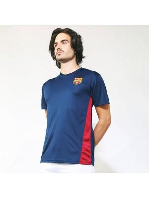 Plain T-shirt Barcelona Official Football Merchandise 140 GSM