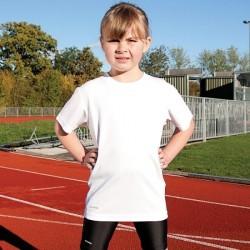 Plain T-Shirt Short Sleeve Junior Spiro  160gsm