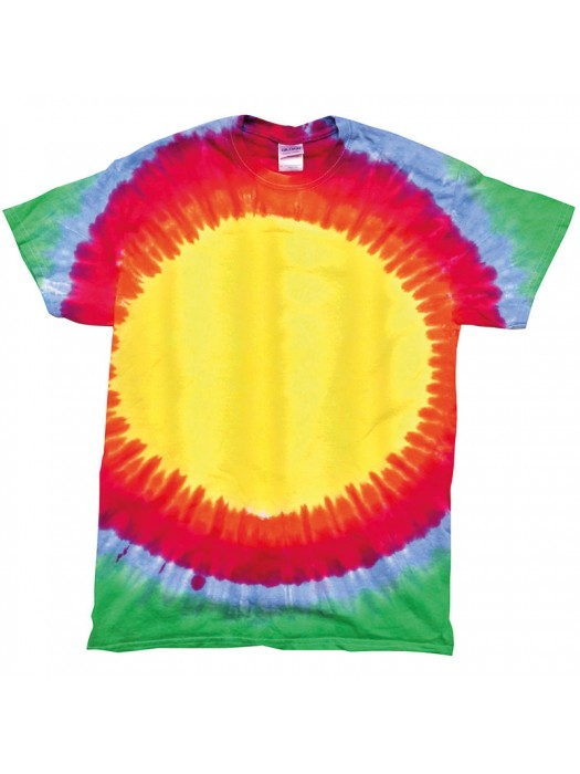 Plain tee Adult  Tie-Dye 5.3oz  GSM