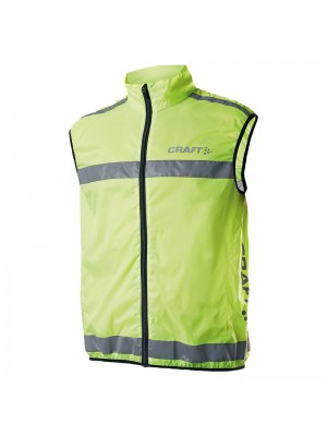 Plain vest Run safety Craft 170 GSM