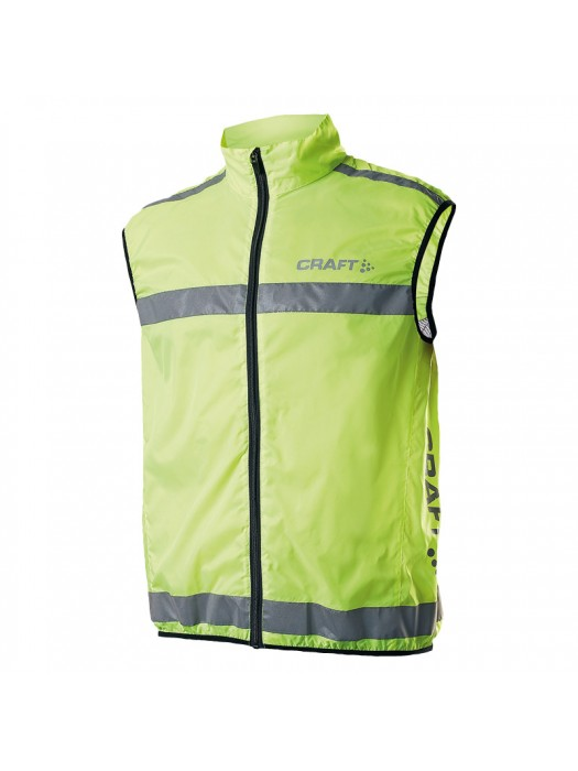 Plain vest Run safety Craft  170gsm GSM