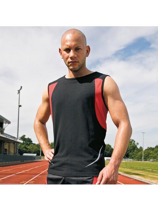 Plain vest sport athletic Spiro  140gsm GSM