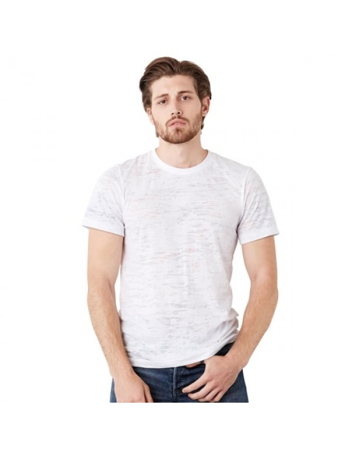 Plain t-shirt Burnout Bella + Canvas 105gsm