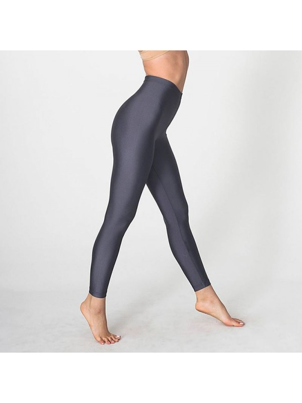 Plain women 39 s nylon tricot legging american apparel 197 gsm for American apparel plain t shirts bulk