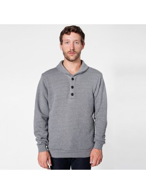 Plain collar rugby Shawl American Apparel 382 GSM