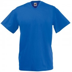 Plain tee Valueweight v-neck FRUIT of the LOOM 160 GSM