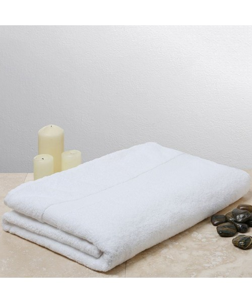 Plain Sanctuary bath sheet Christy 600 GSM