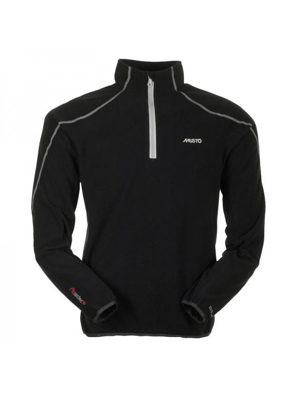 Musto Evo Essential Zip Neck Microfleece Jumper Top Jacket Black Red White S-2XL