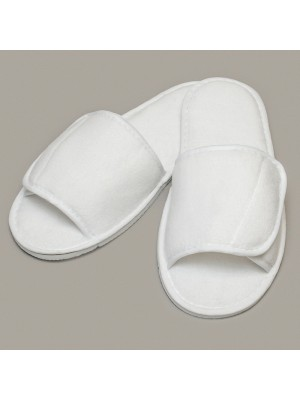 Plain Slippers Open Toe Towel City 160 GSM