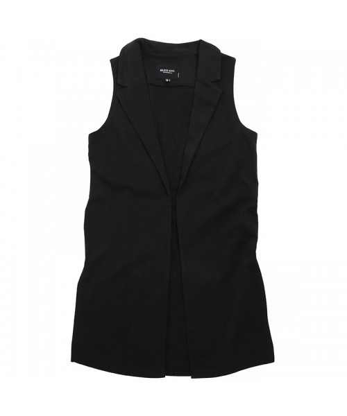 Plain Cobie - ladies long sleeveless jacket Brave Soul  GSM