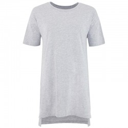 Plain Gals oversized sleepy T Comfy 155 GSM