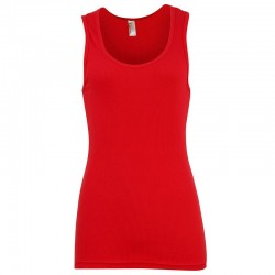 Plain classic tank Women's 2x1 American Apperal 197 GSM