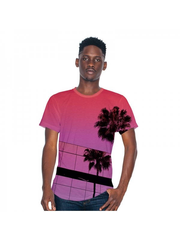 American Apparel 100 Polyester Sublimation T Shirt