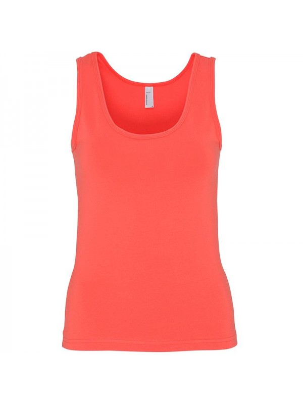Plain cotton spandex tank top american apparel 190 gsm for American apparel plain t shirts bulk