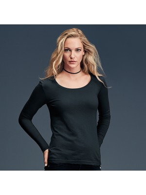 Plain Anvil women's featherweight long sleeve Anvil 110 GSM