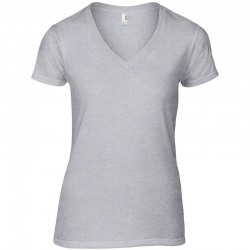 Anvil women's fashion classic v-neck tshirt