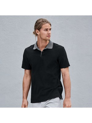 Plain Cotton Double Pique Polo Shirt Anvil 210 GSM