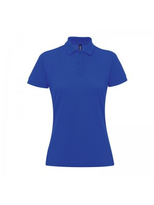 Plain Women's poly/cotton blend polo Asquith&Fox 200 GSM
