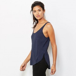 Plain Flowy side slit tank Bella+Canvas 125 GSM