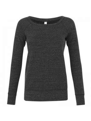 Plain Sponge fleece wide neck sweatshirt Bella +Canvas 280 GSM