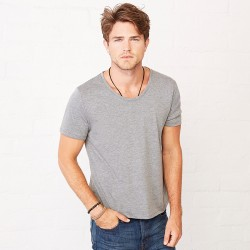Plain t-shirt neck  Bella + Canvas