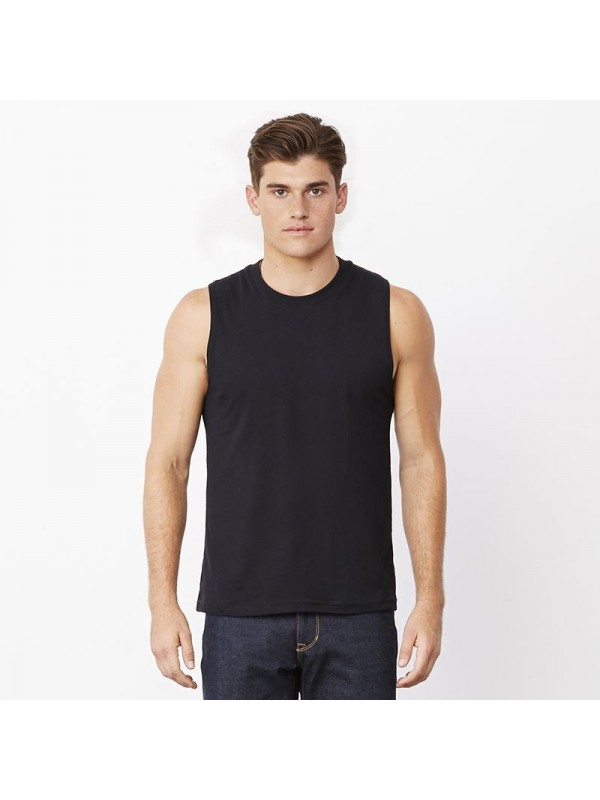 Details about Mens T-Shirt TANK Cotton Sleeveless Muscle Tee Shirts Plain colors Size S - 3XL Mens T-Shirt TANK Cotton Sleeveless Muscle Tee Shirts Plain colors Size S - 3XL Item Information.