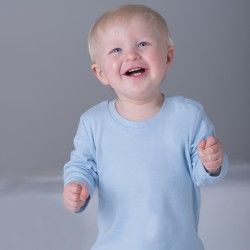 Plain T long sleeve Babybugz  200gsm Kids