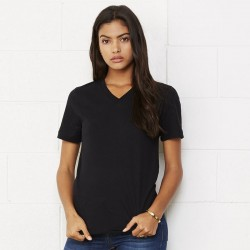 Plain T-Shirt V-Neck  Bella + Canvas 145gsm