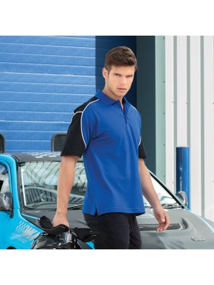 Plain Monaco Formula Racing® polo Game Gear 210 GSM