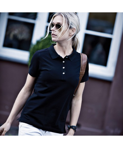 Plain Women's Yale polo Nimbus 250 GSM