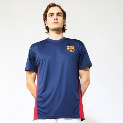 Plain T-shirt Barcelona Official Football Merchandise 140 GSM