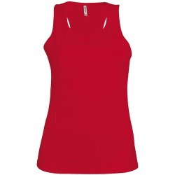 Plain Vest Ladies Proact 140 GSM